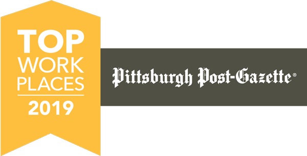 Pittsburgh Post Gazette Top Work Places 2019 logo