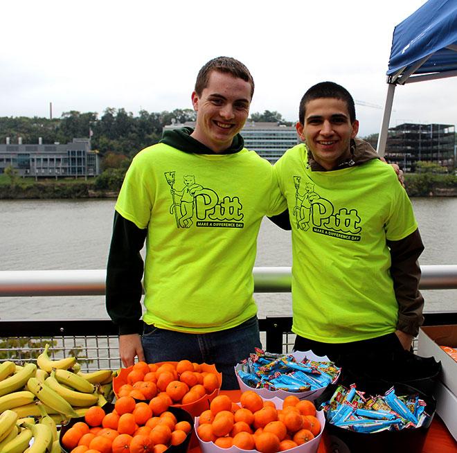 image of volunteers at Emmaus event
